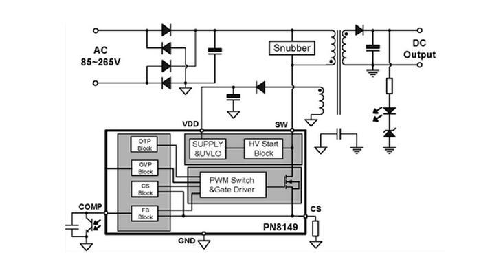 pn8149 应用电路