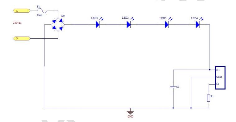 外围电路简单,无需磁性元件     ◆ 多芯片串联或并联应用?